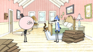 S3E04.001 Mordecai and Rigby Cleaning Pops' Room