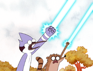 S4E19.96 Mordecai & Rigby's Perfect Fist Pump