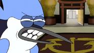 S6E26.113 Mordecai's Death Glare to Jerry