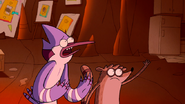 S3E34.207 Mordecai and Rigby Trying to Stop Buttonwillow