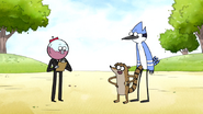 S6E18.064 Mordecai and Rigby Likes Benson's Suit