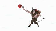 S8E23.496 Krampus Throwing His Ornament Grenade