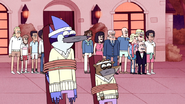 S4E31.093 Mordecai and Rigby Watch in Horror