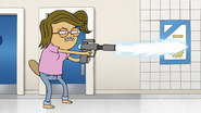 S8E16.230 Eileen Firing a Freeze Ray
