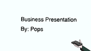 S7E17.117 Business Presentation By Pops