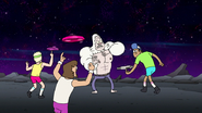 S8E19.075 Skips Surround by Flying-Disc Freestylers