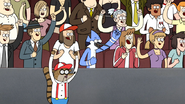 S5E33.128 Mordecai and Rigby Cheers