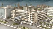 S7E08.027 Raining at the Hospital