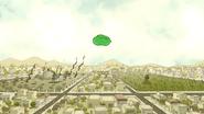 S3E35.053 Giant Water Balloon Heading Towards East Pines Park
