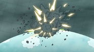 S7E05.367 The Turret Exploding
