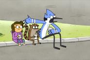 Upset Mordecai