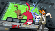 S7E07.174 The Cats Smashing Through the Glass