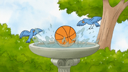 S5E10.058 The Basketball Landing in the Bird Bath