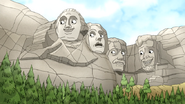 Sh02.098 Mt. Rushmore is Impressed with Pops