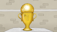 S5E15.23 Dodge Ball Trophy