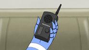 S6E12.049 Mordecai Holding the Radio