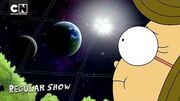 Holding it Together in Space San Diego Comic Con Regular Show Cartoon Network