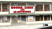 S5E26Books, Zines and In-Betweenz