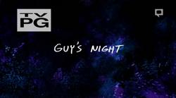 Guys night