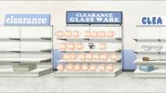 S4E33.090 Clearance Glass Ware