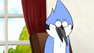 S7E26.111 Mordecai Reluctantly Agreeing with Rigby
