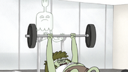 S5E11.061 Muscle Man Lifting Weights
