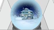 S6E09.199 The House Shown in a Snow Globe