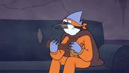 S7E09.329 Mordecai Eating a Chocolate Foot