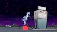 S8E19.092 Mordecai Made it to the Gas Canister