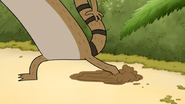 S4E32.035 Rigby Slipping on Mud
