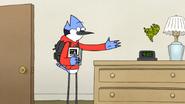 S6E27.059 Mordecai Throwing a Toy