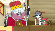 S7E30.070 The King wishes good tidings on thee all!