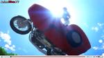 Masami on bike