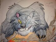 The secret of nimh dragon the cat by kawaiiraichu-d7pl9mc