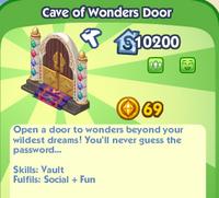 Cave of Wonders Door