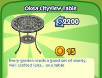 Okea CityView Table