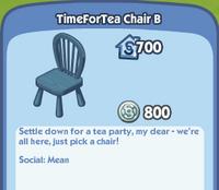 TimeForTea Chair B
