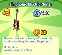Simphonic Electric Guitar