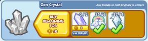 Crafting Zen Crystal