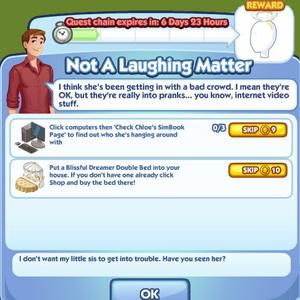 Not a laughing matter