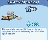 Sim & The City Season 1