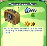 VentureCarryMe Radio
