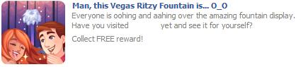 Vegas Ritzy Fountain post