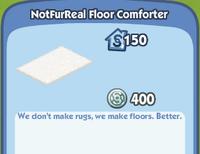 NotFurReal Floor Comforter