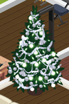 Silver Decorated Tree 6