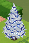 Frosty Decorated Tree 2