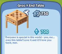 GrooVEndTable