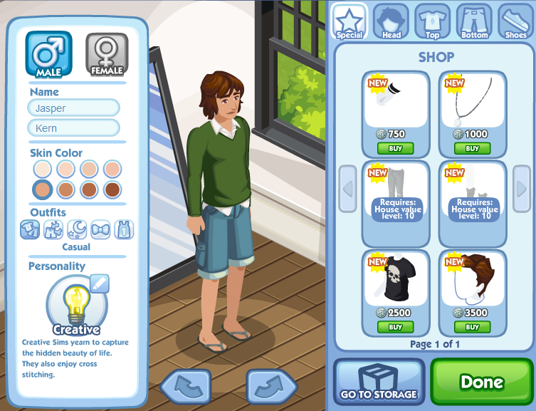 Creating Your Own Sim The Sims Social Wiki Fandom