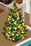 Gold Decorated Tree 6