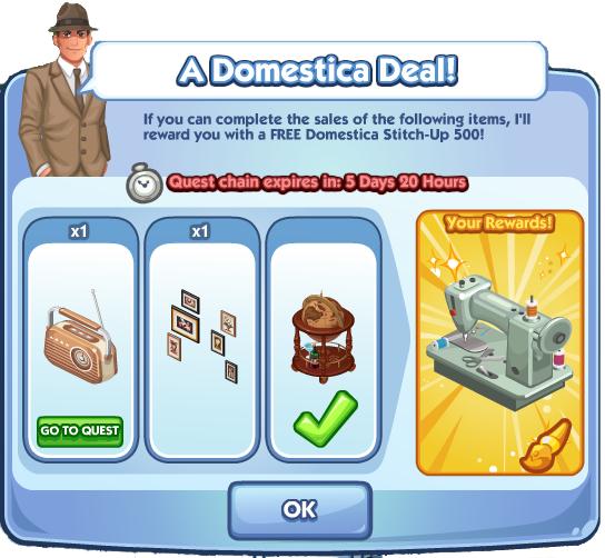 A Domestica Deal